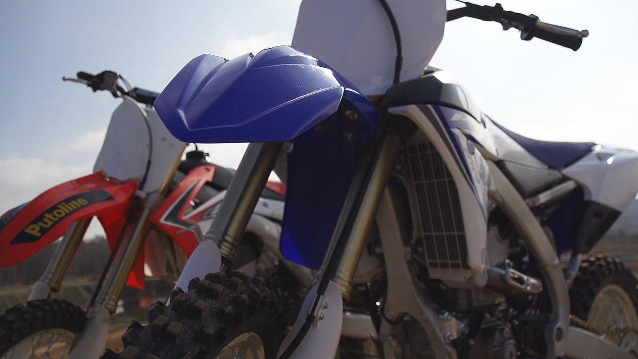 """Motocross Top Gear"" - Test 2014 YZ450F i CRF 250"