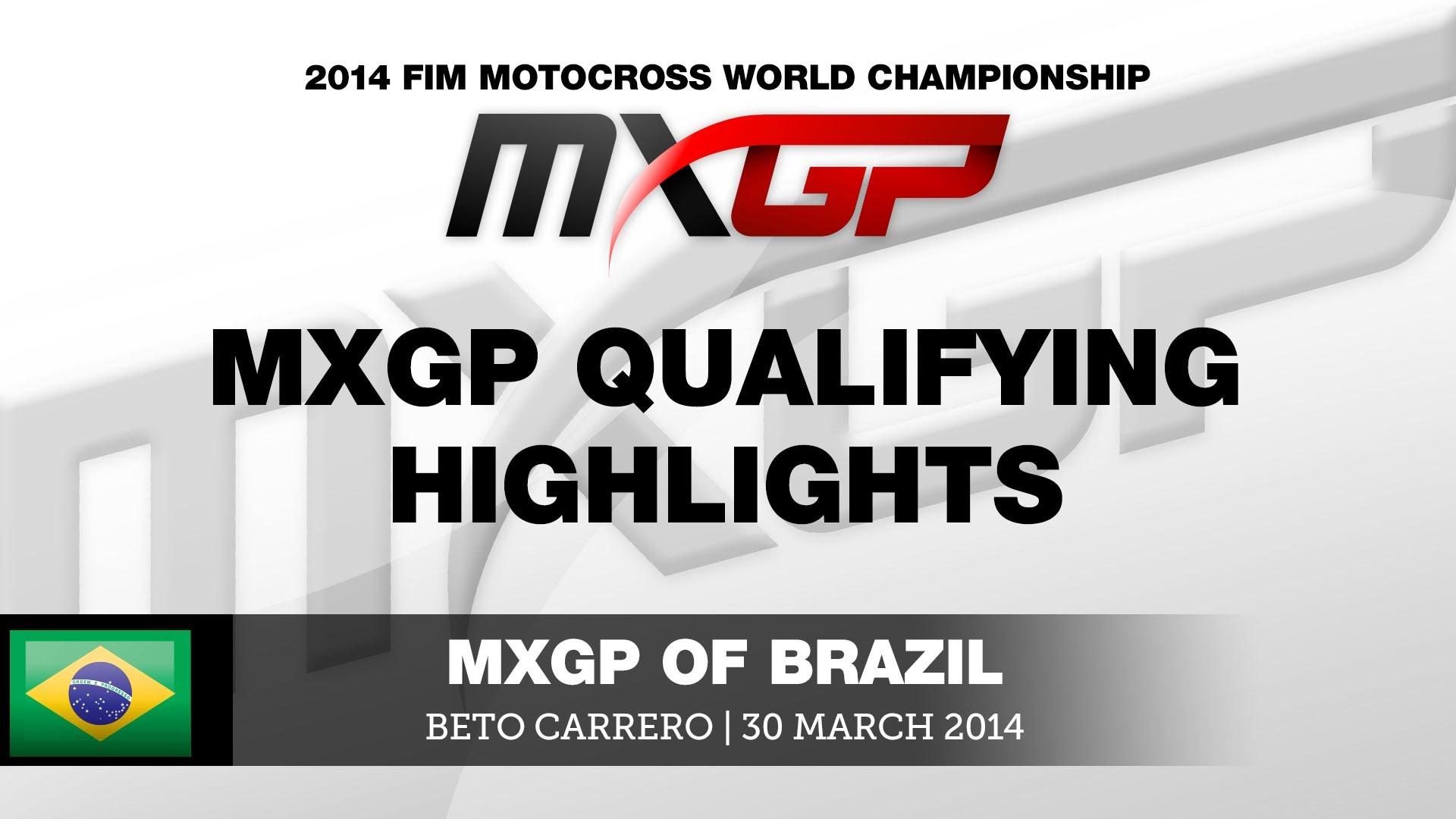 MXGP of Brazil 2014 Highlights + Kwalifikacje