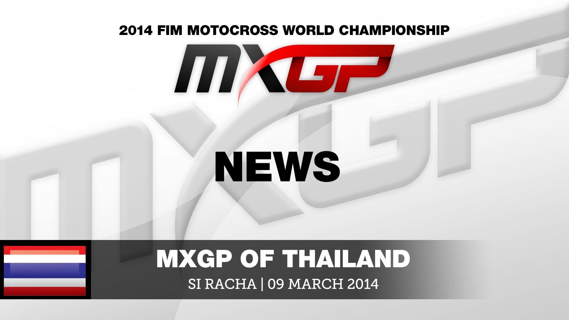 MXGP of Thailand 2014 Najważniejsze Momenty