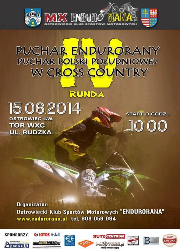 Puchar EnduroRany Polski Południowej w Cross Country IV runda - 15.06.2014