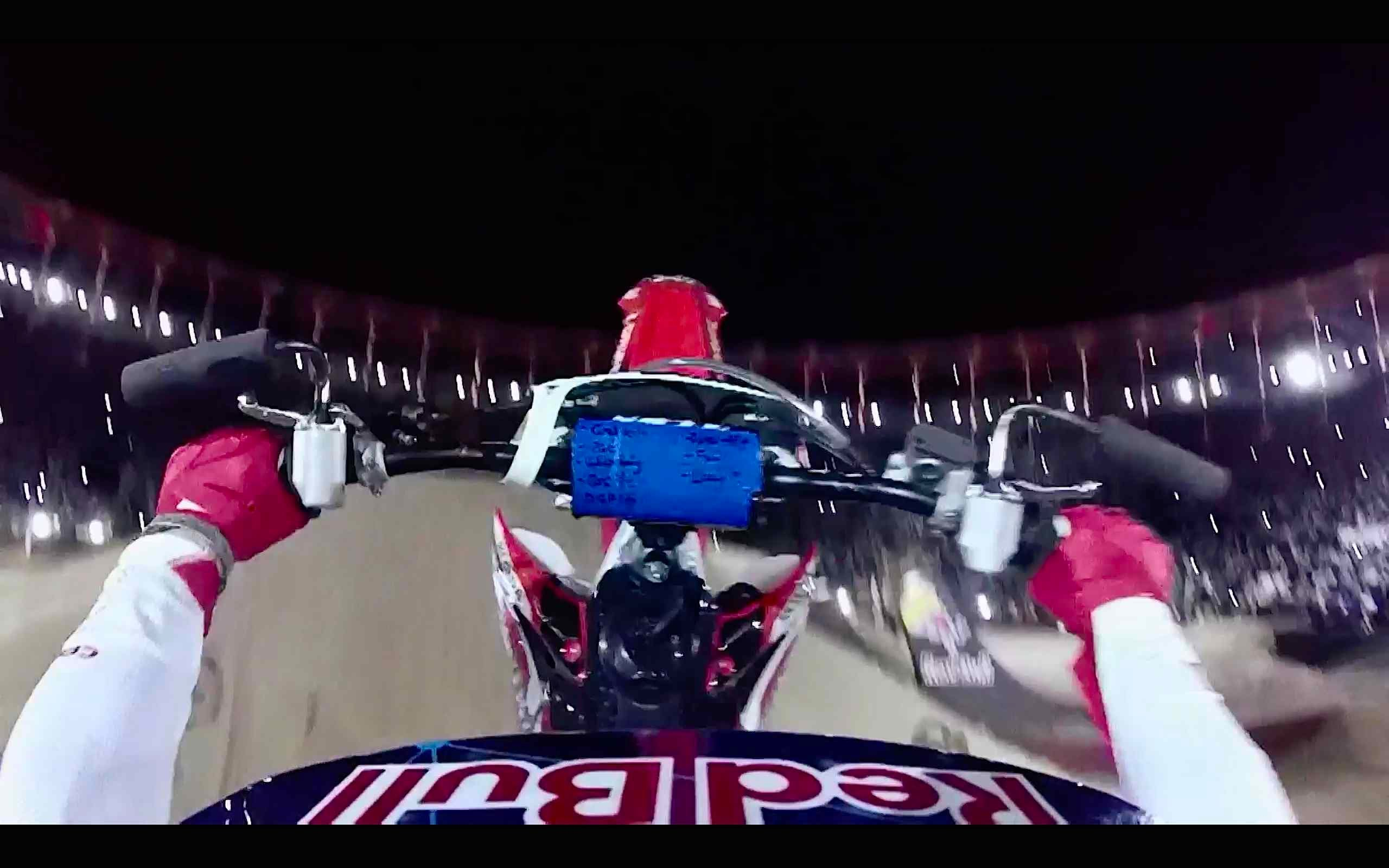 FMX Double Backflip Through the Eyes of Josh Sheehan - Red Bull X-Fighters Madrid 2014