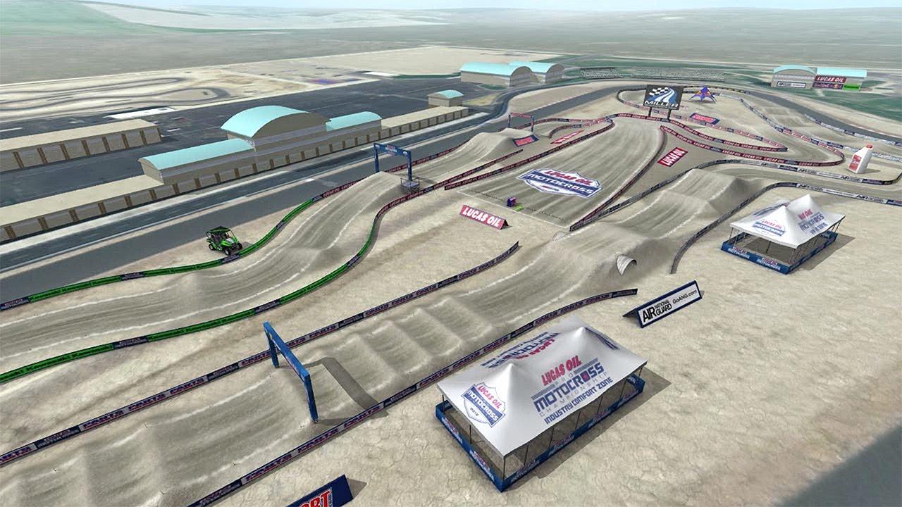 Animacja toru Miller Motorsports Park - 2014 Utah National