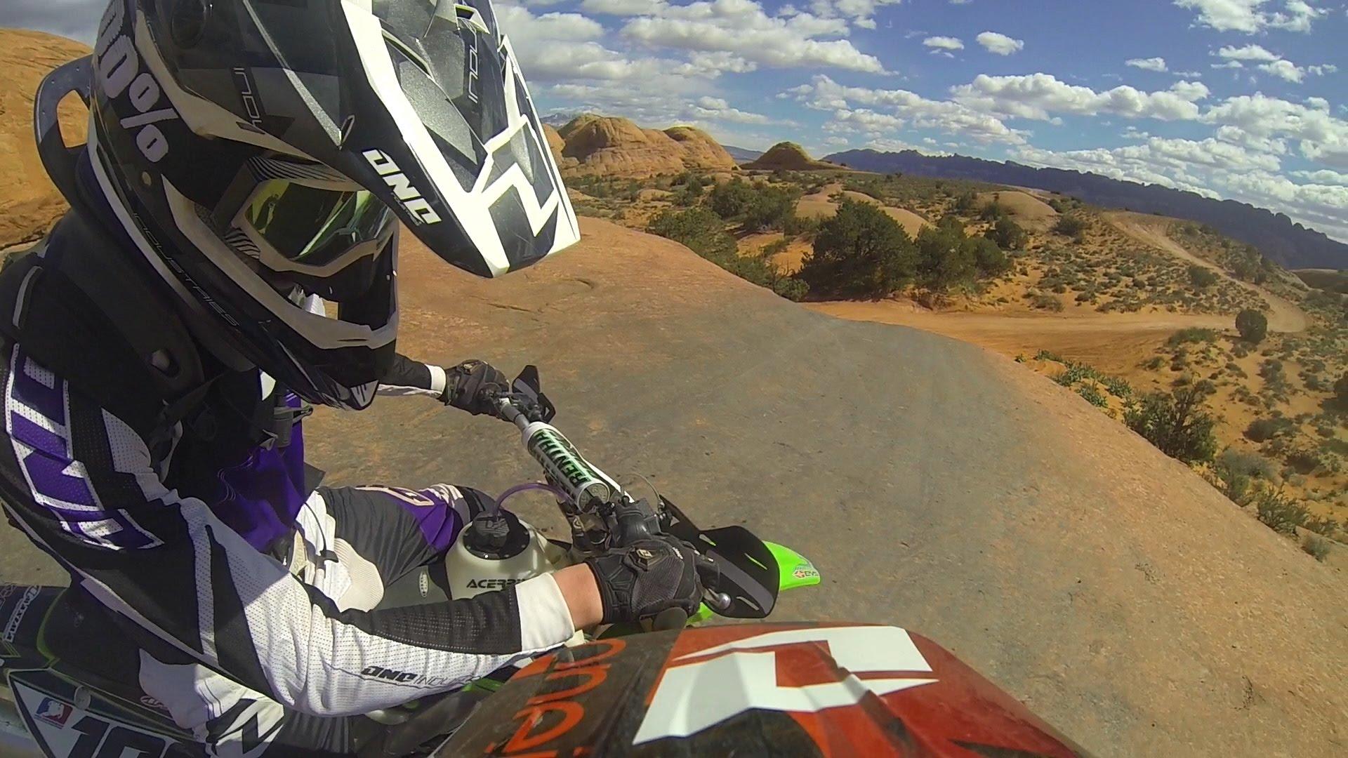 Onboard: Moab Moto Adventure