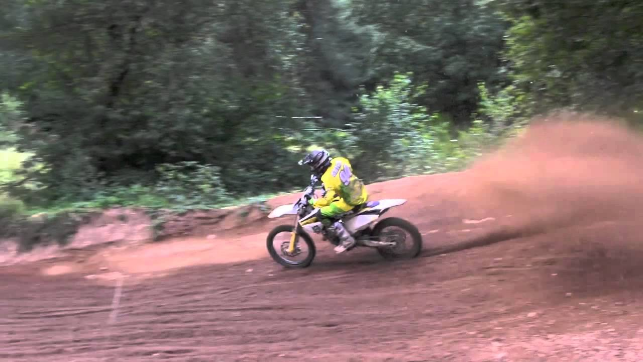 Rick Satink wide open - Husqvarna 125cc