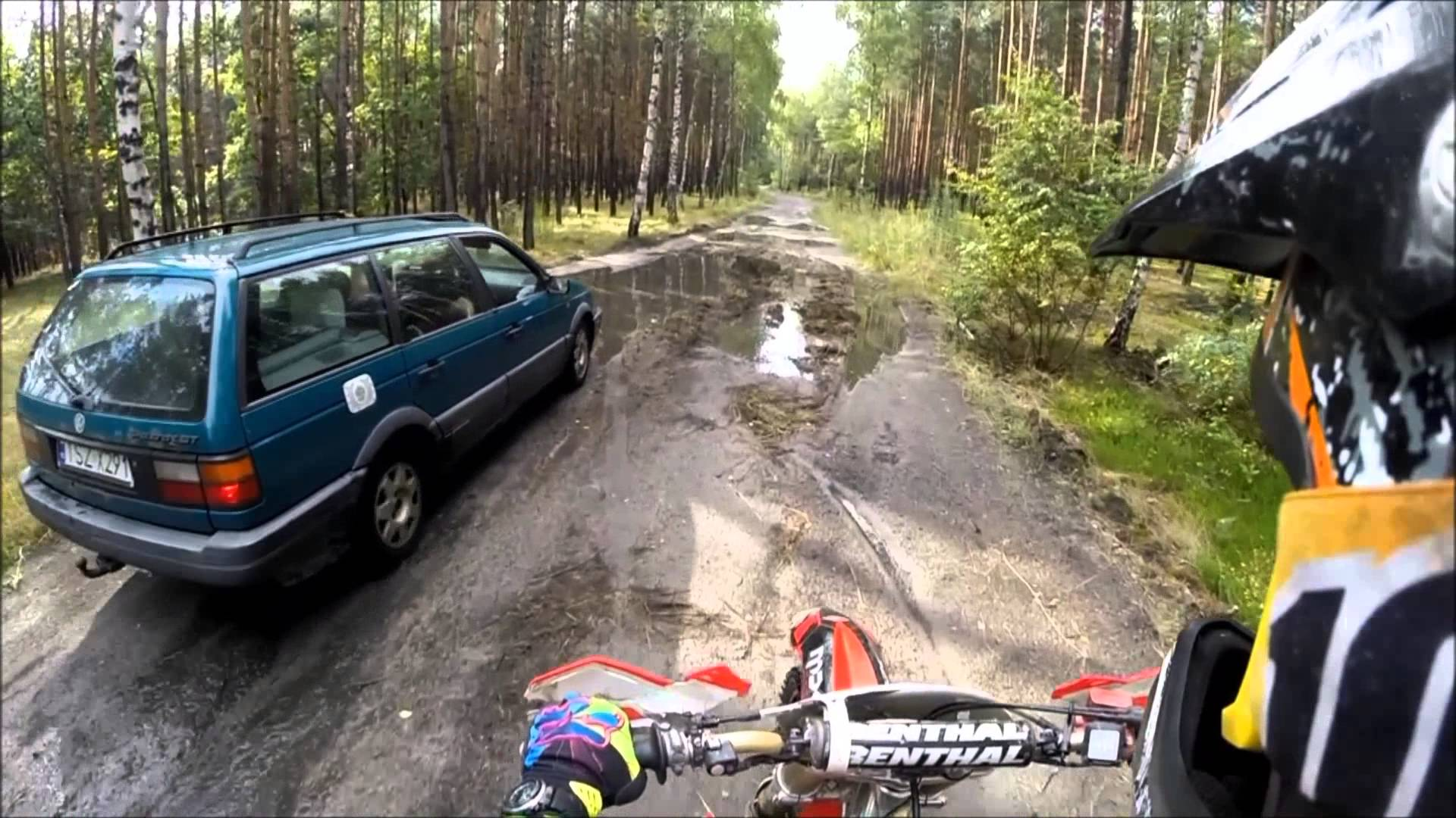 WASZE FILMY: Enduro racing - strange actions, mishaps and accidents !