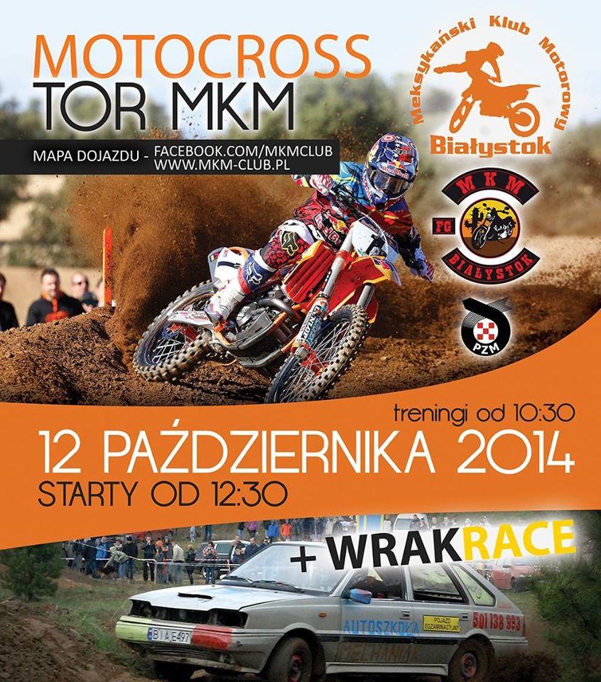 VII i VIII Runda Mistrzostw Okręgu Białostockiego W Motocyklowych Wyścigach Terenowych + WRAKRACE