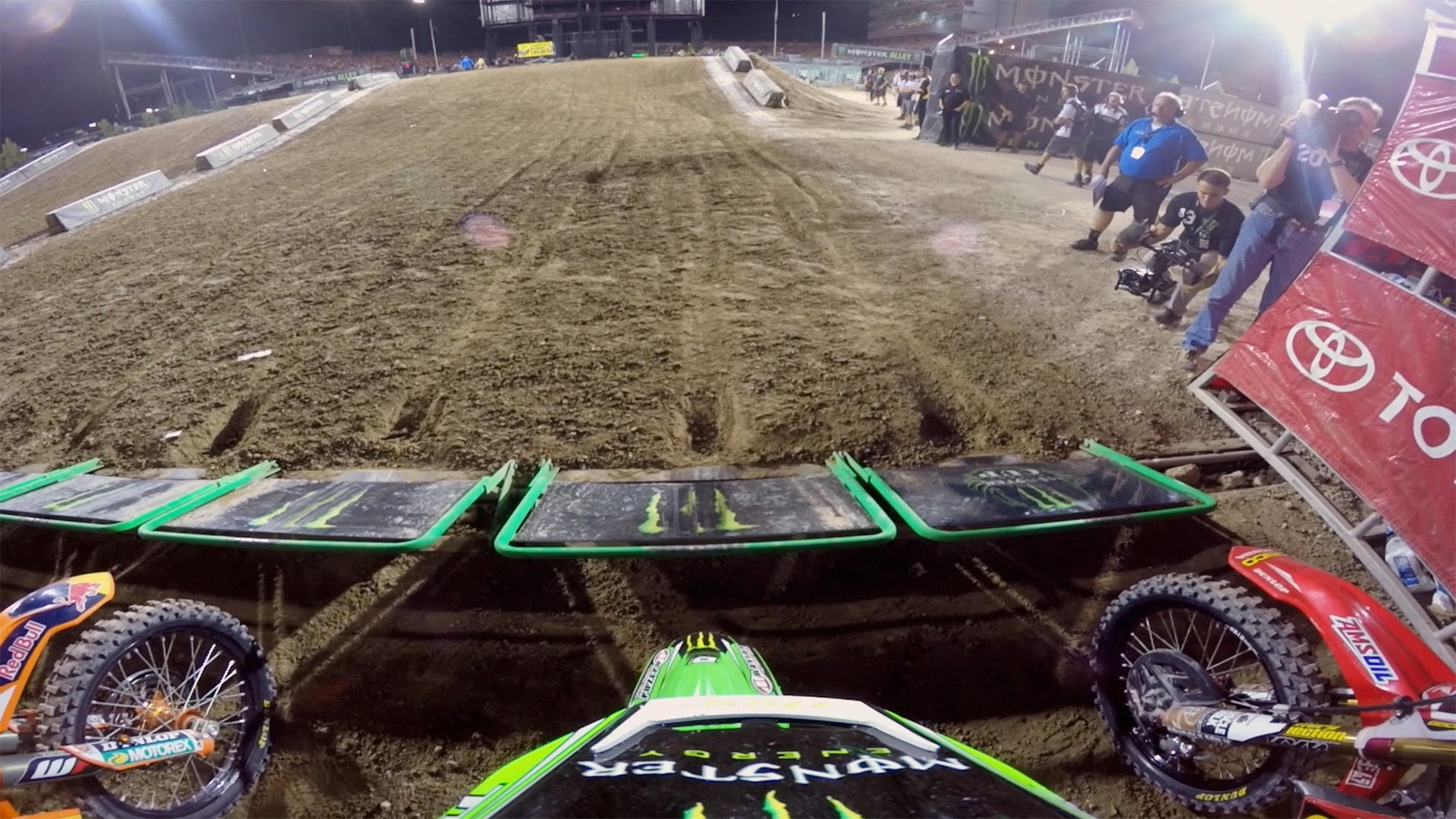 Onboard: Davi Millsaps - Monster Energy Cup 2014