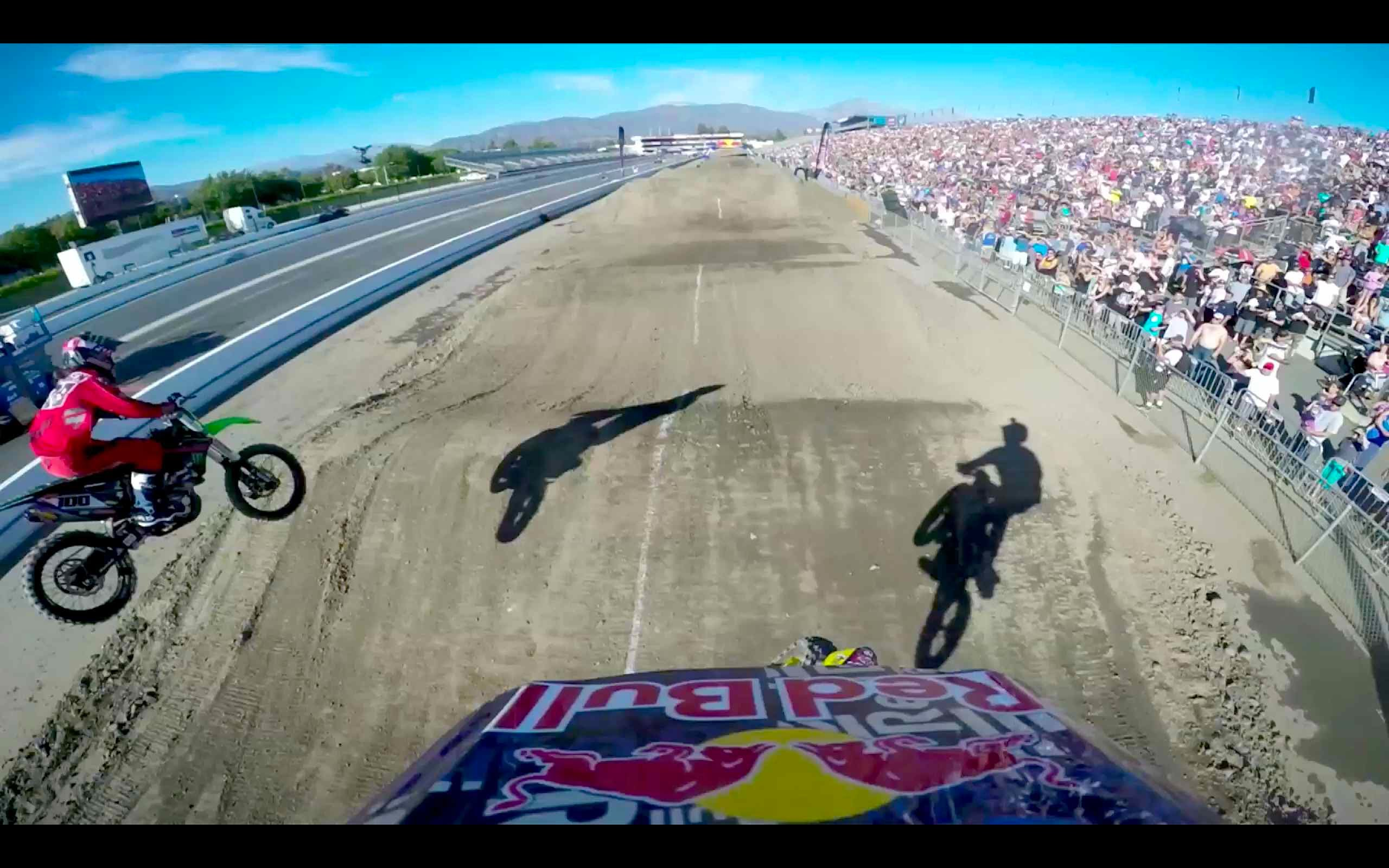 Travis Pastrana na Red Bull Straight Rhythm