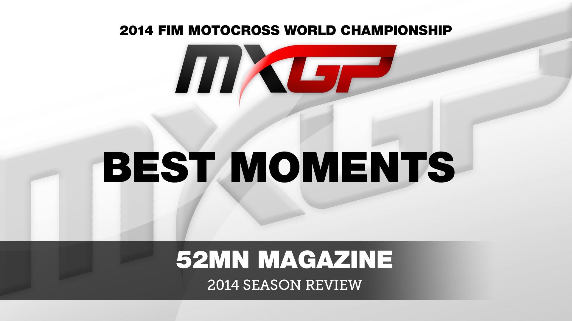 Najlepsze momenty z sezonu 2014 - MXoN