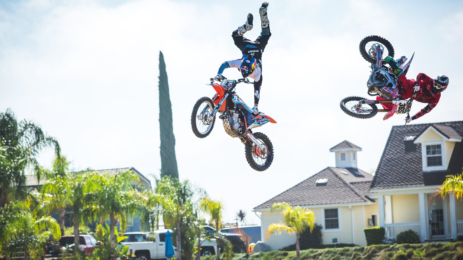 Brett Cue ALL IN - Riding with Twitch & Robbie Maddison