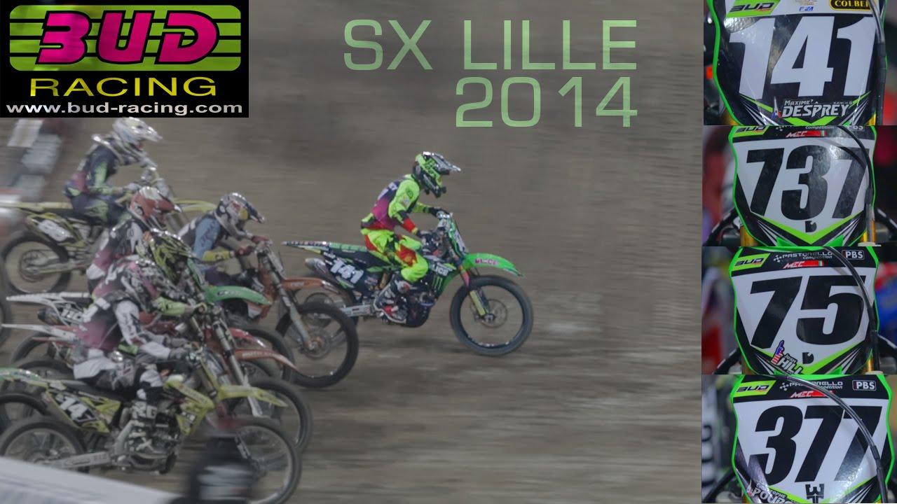Team Bud Racing Monster Energy : SX LILLE 2014