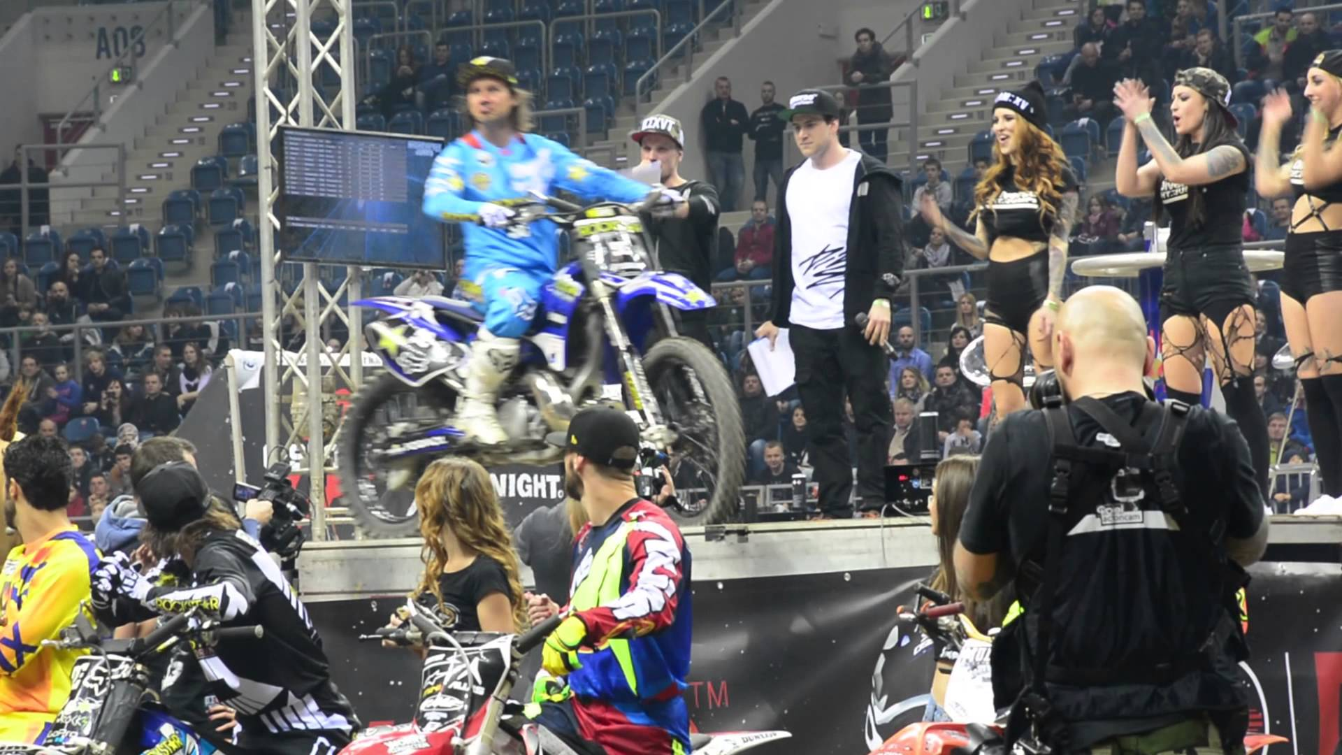 DIVERSE NIGHT OF THE JUMPS TAURON Arena Kraków 2015 by MXmagazine
