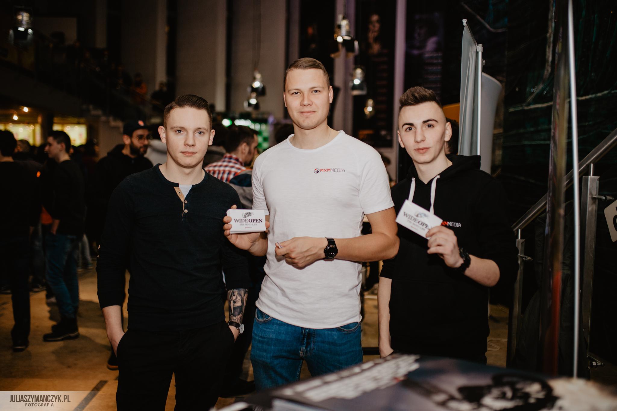 "Premiera filmu ""WIDEOPEN the MOTO Life"" Kraków 2018 + Galeria"